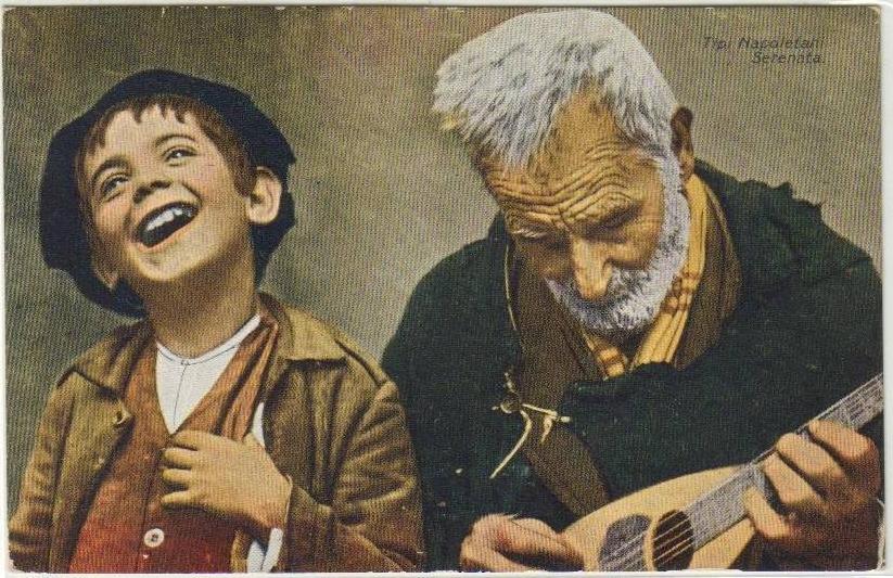 Tipi_Napoletani_-_Serenata_(Naples,_Boy_and_old_man_playing_serenade)_-_Old_postcard-1.jpg